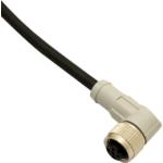 Szenzor kábel M12 4pol 90° anya csatlakozóval  5m PUR