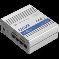 RUTX09 Ipari Mobilnet Router 4G LTE CAT6  4xGigabit ETH