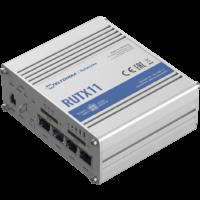 RUTX11 Ipari Mobilnet Router 4G LTE CAT6 GNSS & WIFI & BT & 4xGigabit ETH