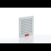 Szűrőbetétes szellőztető, ventilátor nélküli elem 110x110mm