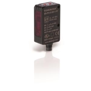 S8-PR-5-M53-PP Tárgyreflexiós, Háttérelnyomásos Optikai érzékelő, Átlátszó tárgyakhoz, PNP, M8