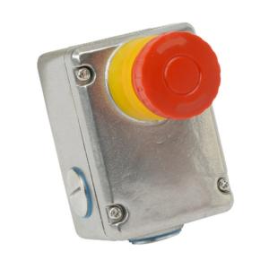 ESL-SS Vész Stop Kapcsoló 3NC + 1NO  Rozsdamentes Acél