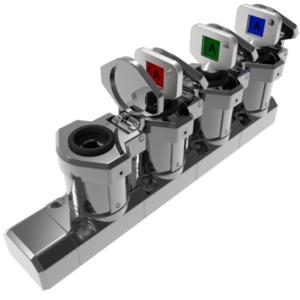 M-KE-NS4 4 kulcsos kulcscsere egység (Mirror Polished Fém)