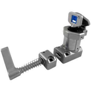 SS-HS karos egykulcsos retesz - csapdázott kulcs (Rozsdamentes acél)