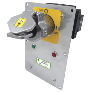 SS-ISP-SKR Isolation Switch with Solenoid Control Panel Mount