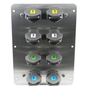 SS-MX-P-8 MX Multi 8 kulcsos kulcscsere egység (Rozsdamentes acél)