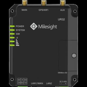 Milesight LTE Router 4G DUAL SIM WIFI  2xLAN RS232