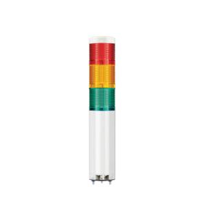 QTG60ML-BZ komplett jelzőtorony piros + n.sárga + zöld + hangjelző Ø60mm
