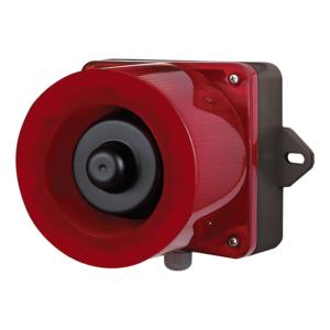 LED Villanófény és Hangjelző IP66