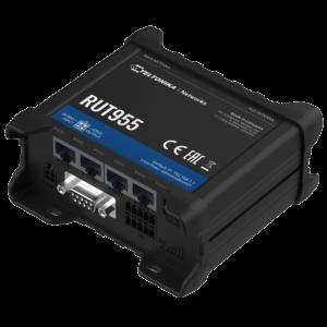 Teltonika RUT955 Ipari Mobilnet Router Dual SIM 4G LTE GNSS WIFI