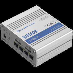Teltonika RUTX09 Ipari Mobilnet Router 4G LTE CAT6  4xGigabit ETH