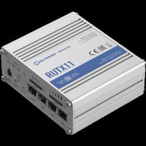 Teltonika RUTX11 Ipari Mobilnet Router 4G LTE CAT6 GNSS & WIFI & BT & 4xGigabit ETH