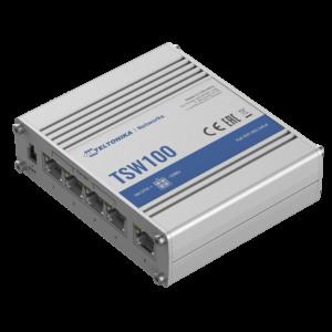 Teltonika TSW100 Ipari PoE+ Switch