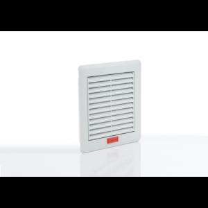 Szűrőbetétes szellőztető, ventilátor nélküli elem 160x160mm