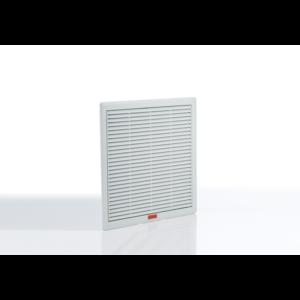 Szűrőbetétes szellőztető, ventilátor nélküli elem 325x325mm