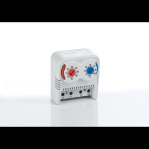 Kapcsolószekrény fűtés / hűtés termosztát