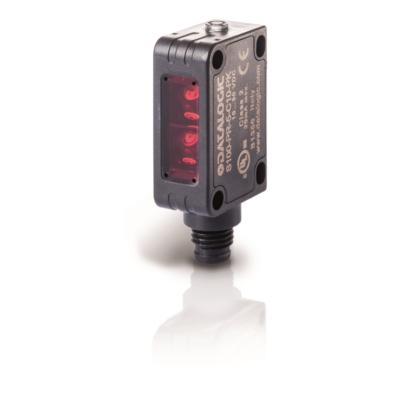 Datalogic tárgyreflexiós háttérelnyomásos optikai érzékelő, M8 csatl., Sn: 30...100 mm, PNP S100-PR-5-M00-PH