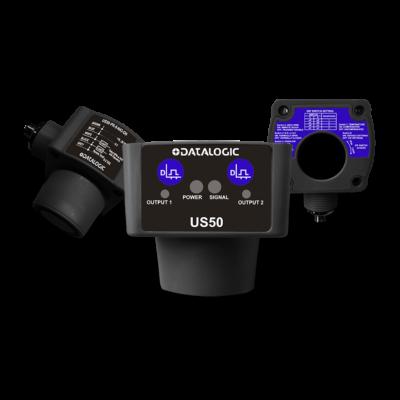 Datalogic Ultrahangos érzékelő,  PNP/NPN, Sn:200...8000mm US50-PR-5-N43-OH