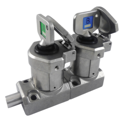 SS-BD-11 Bolt Interlock Dual Key (Stainless Steel 316)