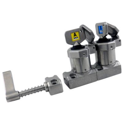 SS-HD-11 karos dupla kulcsos retesz (Rozsdamentes acél)