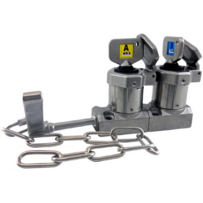SS-HD-C-11 karos dupla kulcsos retesz lánccal (Rozsdamentes acél)
