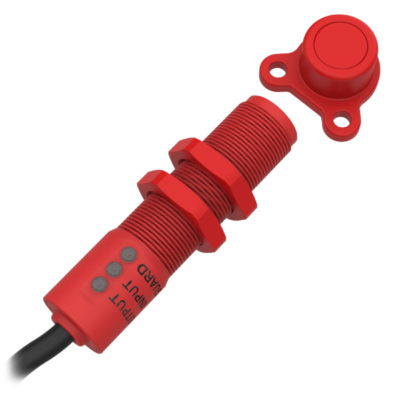 BPZ-U M18 RFID Biztonsági Érzékelő OSSD Kimenettel