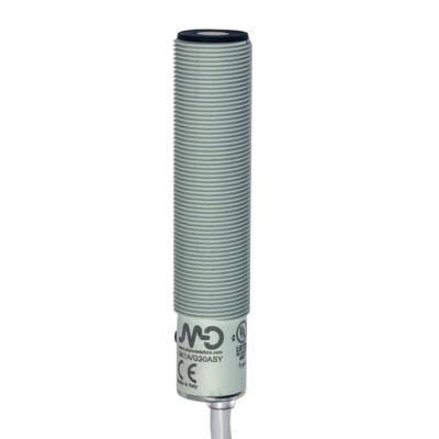 UK1A Ultrahangos érzékelő, 0-10 V + PNP NO/NC  50-400 mm, 2 méter kábel, műanyag ház, cULus