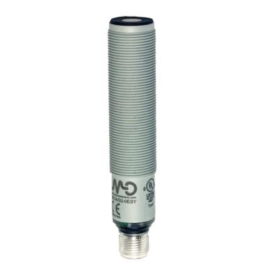UK1D Ultrahangos érzékelő, 0-10 V + PNP NO/NC  150-1600 mm M12 csatlakozó, műanyag ház, cULus