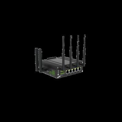 Milesight LTE Router 5G DUAL SIM WIFI GPS PoE 5xLAN RS232 RS485