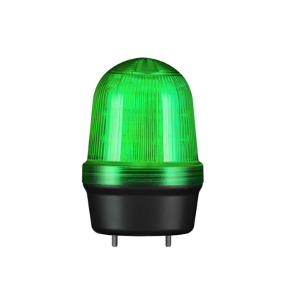 Q60L LED Fényjelző, állandó/villogó zöld DC12-24V, IP65