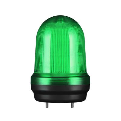 Q80L LED Fényjelző, állandó/villogó zöld AC100-240V, IP65