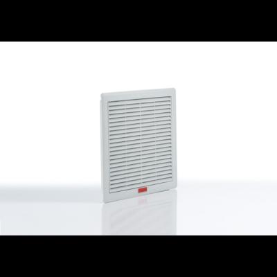 Szűrőbetétes szellőztető, ventilátor nélküli elem 260x260mm