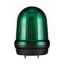 Kép 1/2 - MFL125 LED Multifunkciós fényjelző és hangjelző, állandó/villogó/stroboszkóp/forgó fény zöld DC12-24V, IP65