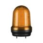 Kép 1/2 - Q80L LED Fényjelző, állandó/villogó narancssárga DC12-24V, IP65