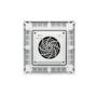 Kép 3/4 - Kapcsolószekrény tetőventilátor 400m³/h, 364x364mm